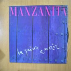 MANZANITA - LA QUIERO A MORIR - LP