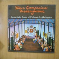 CARLOS MEJIA GODOY Y EL TALLER DE SONIDO POPULAR - MISA CAMPESINA NICARAGUENSE - GATEFOLD - LP