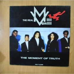 THE REAL MILLI VANILLI - THE MOMENT OF TRUTH - LP