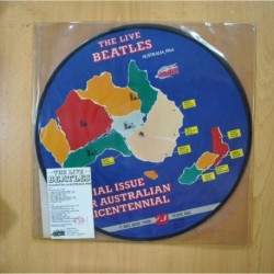 THE BEATLES - THE LIVE BEATLES RECORDED LIVE IN AUSTRALIA - 2 PICTURE