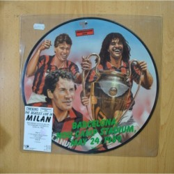 THE BEATLES - LIVE IN MILAN - PICTURE - LP