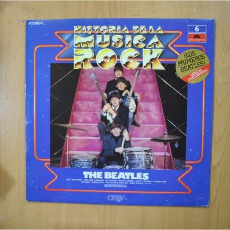 THE BEATLES - HISTORIA DE LA MUSICA ROCK - LP