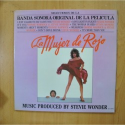 STEVIE WONDER - LA MUJER DE ROJO - GATEFOLD - LP