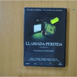 LLAMADA PERDIDA - DVD
