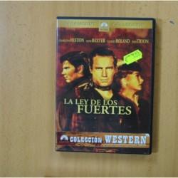 LA LEY DE LOS FUERTES - DVD