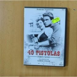 40 PISTOLAS - DVD