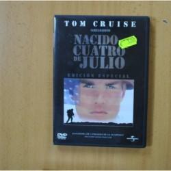 NACIDO UN CUATRO DE JULIO - DVD