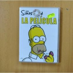 LOS SIMPSON LA PELICULA - DVD