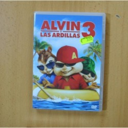 ALVIN Y LAS ARDILLAS 3 - DVD