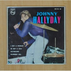 JOHNNY HALLYDAY - I GOT A WOMAN + 3 - EP