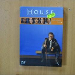 HOUSE - PRIMERA TEMPORADA - DVD