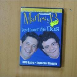 MARTES Y 13 POR EL AMOR DE DOS - DVD