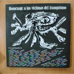 VARIOS - HOMENAJE A LAS VICTIMAS DEL FRANQUISMO - 4 LP