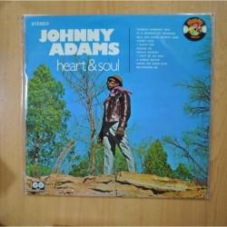 JOHNNY ADAMS - HEART & SOUL - LP