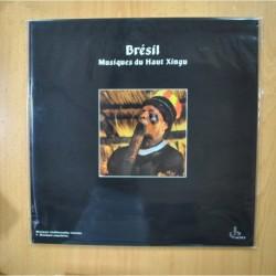 VARIOS - BRESIL MUSIQUES DU HAUT XINGU - GATEFOLD - LP
