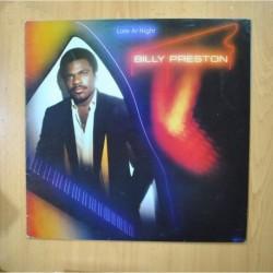 BILLY PRESTON - LATE AT NIGHT - LP