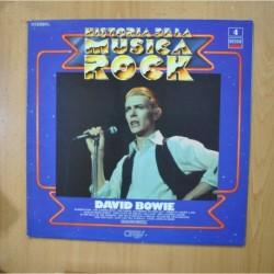 DAVID BOWIE - HISTORIA DE LA MUSICA ROCK - LP