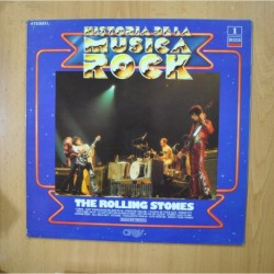 THE ROLLING STONES - HISTORIA DE LA MUSICA ROCK - LP