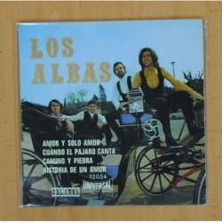 LOS ALBAS - AMOR Y SOLO AMOR + 3 - EP