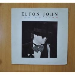 ELTON JOHN - ICE ON FIRE - LP