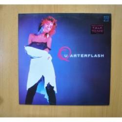 QUARTERFLASH - BACK INTO BLUE - LP