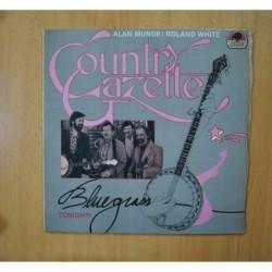 COUNTRY GAZETTE - BLUEGRESS TONIGHT - LP