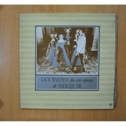 RICK WAKEMAN - LAS SEIS ESPOSAS DE ENRIQUE VIII - GATEFOLD LP