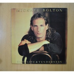 MICHAEL BOLTON - TIME LOVE AND TENDERNESS - LP