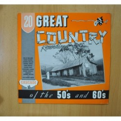 VARIOUS - GREAT COUNTRY OF THE 50`S AND 60`S - LP