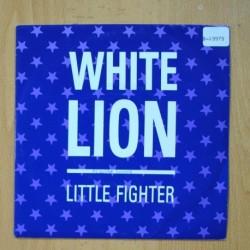 WHITE LION - LITTLE FIGHTER - SINGLE