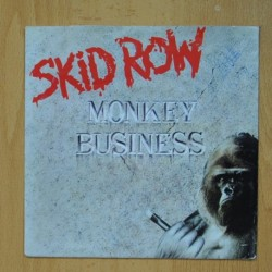 SKID ROW - MONKEY BUSINESS - SLAVE TO THE GRIND - SINGLE