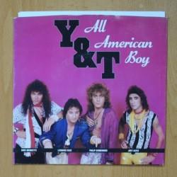 Y & T - ALL AMERICAN BOY - GO FOR THE THROAT - PROMO - SINGLE