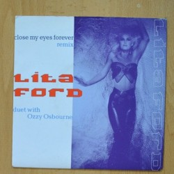 LITA FORD - CLOSE MY EYES FOREVER (REMIX) WITH OZZY OSBOURNE - UNDER THE GUN - SINGLE