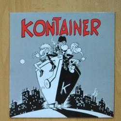 KONTAINER - NO EL CONDENADO - IR SOBRE AGUAS MARINERITO - SINGLE