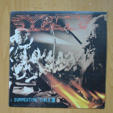 Y&T - I SUMMERTIME GIRLS - LIPSTICK AND LEATHER - SINGLE