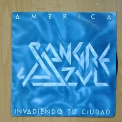 SANGRE AZUL - AMERICA - INVADIENDO TU CIUDAD - SINGLE