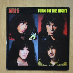 KISS - TURN ON THE NIGHT - HELL OR HIGH WATER - SINGLE