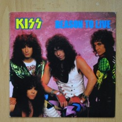 KISS - REASON TO LIVE - THIEF IN THE NIGHT - SINGLE