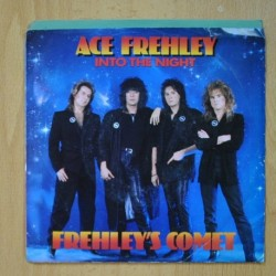 ACE FREHLEY - INTO THE NIGHT - FRACTURED TOO - SINGLE