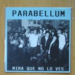 PARABELLUM - MIRA QUE NO LO VES - CANCION DE AMOR - BRONCA EN EL BAR - EP