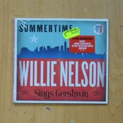 WILLIE NELSON - SUMMERTIME WILLIE NELSON SINGS GERSHWIN - CD