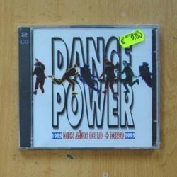 VARIOS - DANCE POWER - 2 CD