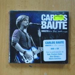 CARLOS BAUTE - DIRECTO EN TUS MANOS - DVD + CD