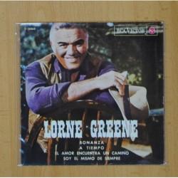 LORNE GREENE - BONANZA + 3 - EP