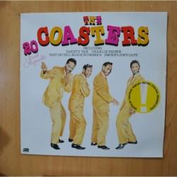 THE COASTERS - 20 GREAT ORIGINALS - LP