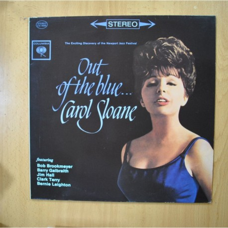 CAROL SHANE - OUT OF THE BLUE - LP