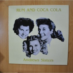 ANDREWS SISTERS - RUM AND COCA COLA - LP