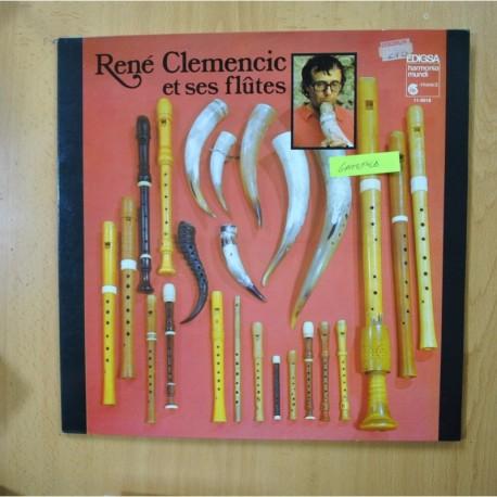 RENE CLEMENCIC - RENE CLEMENCIC ET SES FLUTES - LP
