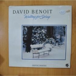 DAVID BENOIT - WAITING FOR SPRING - LP