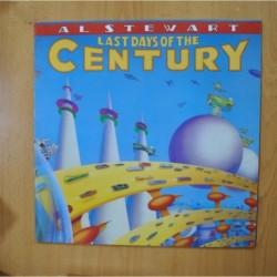 AL STEWART - LAST DAYS OF THE CENTURY - LP
